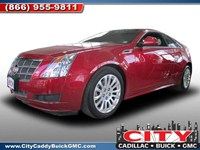 2011 Cadillac CTS Coupe New York U8003A
