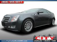 2011 Cadillac CTS Coupe NY U8001A