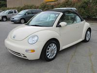 2005 Volkswagen New Beetle Convertible AL 130580A