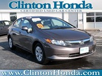 2012 Honda Civic Sedan New Jersey 131776A