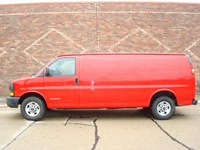 2006 GMC Savana Cargo Van Michigan 21833