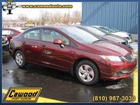 2013 Honda Civic Sedan Michigan HD186