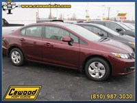 2013 Honda Civic Sedan Michigan HD164